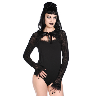 Damen Body Langarm  BANNED - Black Lace, BANNED