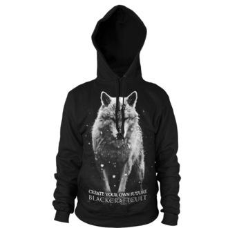 Herren Hoodie BLACK CRAFT - Lone Wolf - Black