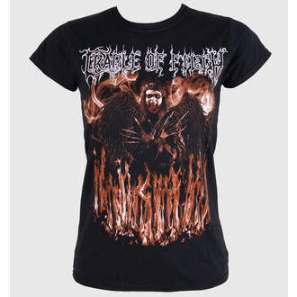 Damen T-Shirt  CRADLE OF FILTH - DEVILS CONCUBINE - BLACK - LIVE NATION, LIVE NATION, Cradle of Filth