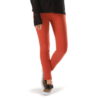 Damen Hose VANS  - Moto Skinny Denim - Ketchup, VANS