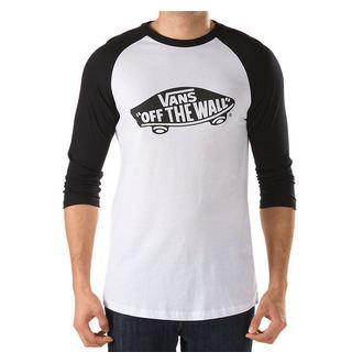 Herren T-Shirt VANS - OTW Raglan - WHITE-BLACK, VANS