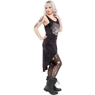 Damen Kleid  SOURPUSS - Hi Low Omni - Black, SOURPUSS