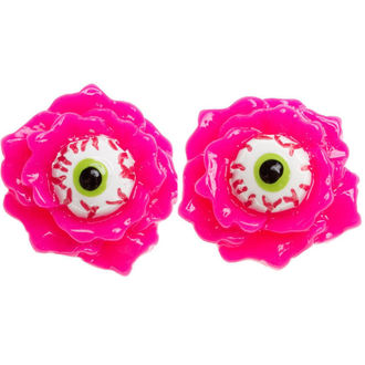 Ohrringeee/Ohrstecker SOURPUSS - Eyeball Corsage - Pink, SOURPUSS