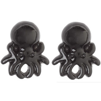Ohrringeee/Ohrstecker SOURPUSS - Octopus - Black, SOURPUSS