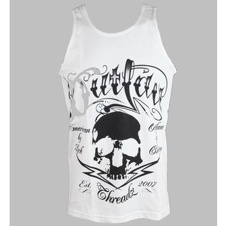 Herren Tank Top Outlaw Threadz - Tattoo - White, OUTLAW THREADZ