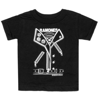 Kinder T-Shirt SOURPUSS - Ramones - Punker - Black, SOURPUSS, Ramones