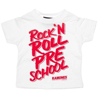 Kinder T-Shirt SOURPUSS - Ramones - RNR Pre School - White, SOURPUSS, Ramones