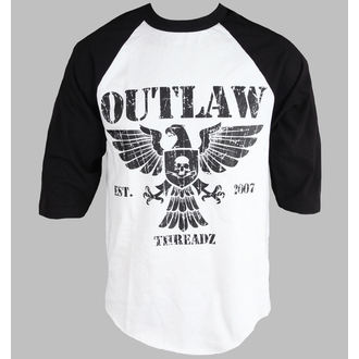 Herren T-Shirt 3/4-Arm Outlaw Threadz - Crest, OUTLAW THREADZ