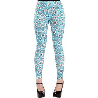 Damen Leggings  SOURPUSS - Optical Delusion - Aqua, SOURPUSS