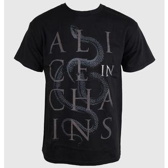 Herren T-Shirt Alice In Chains - Snakes - Black - BRAVADO, BRAVADO, Alice In Chains