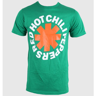 Herren T-Shirt Red Hot Chili Peppers - Asterisk Irish - Green - BRAVADO, BRAVADO, Red Hot Chili Peppers