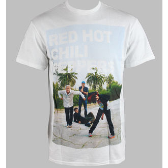 Herren T-Shirt Red Hot Chili Peppers - Drop Out - White - BRAVADO, BRAVADO, Red Hot Chili Peppers