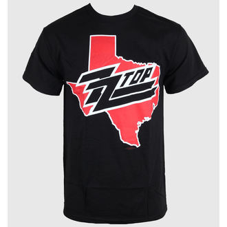 Herren T-Shirt ZZ-Top - Texas - Black - BRAVADO, BRAVADO, ZZ-Top