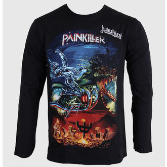 Herren Longsleeve Judas Priest - Painkiller - ROCK OFF, ROCK OFF, Judas Priest