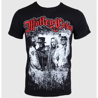 Herren T-Shirt   Mötley Crüe - Greatest Hits Bandshot - Black - ROCK OFF, ROCK OFF, Mötley Crüe