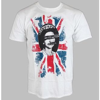 Herren T-Shirt   Sex Pistols - Rotten - White - ROCK OFF, ROCK OFF, Sex Pistols