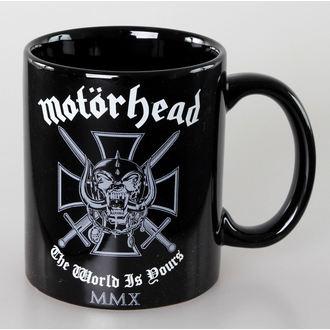 Keramiktasse Motörhead - Iron Cross - ROCK OFF, ROCK OFF, Motörhead