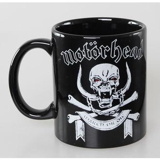 Keramiktasse Motörhead - March or Die - ROCK OFF, ROCK OFF, Motörhead
