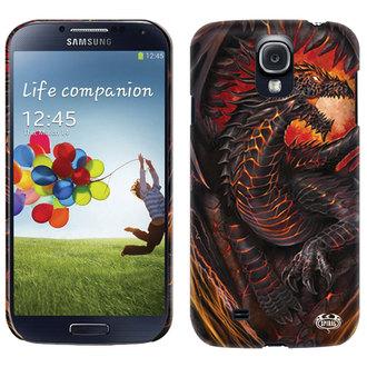 Gehäuse  Handy SPIRAL - DRAGON FURNACE - Samsung, SPIRAL