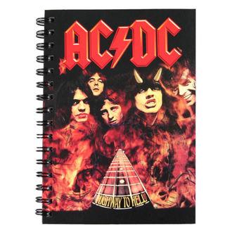Notizblock AC/DC, NNM, AC-DC