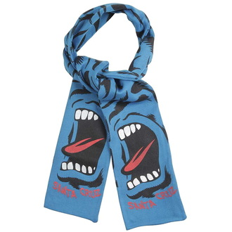 Schal SANTA CRUZ - Screaming Camo Scarf - Blue, SANTA CRUZ