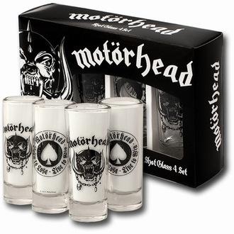 Schnapsglas-Set Motörhead, NNM, Motörhead