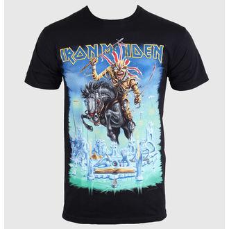 Herren T-Shirt   Iron Maiden - Trooper - Black - ROCK OFF, ROCK OFF, Iron Maiden