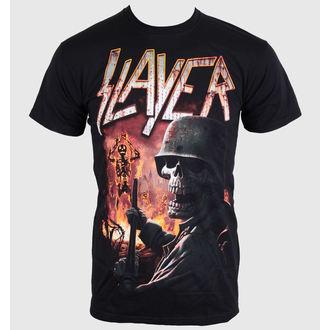 Herren T-Shirt   Slayer - Torch - Black - ROCK OFF - SLAY19