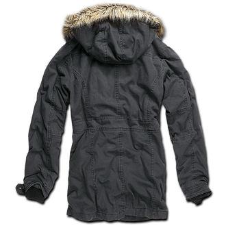 Jacke Damen Winter Brandit - Nolita Vintage - Black, BRANDIT