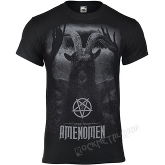 Herren T-Shirt Hardcore - UNDER THE UNSACRED MOONLIGHT - AMENOMEN, AMENOMEN