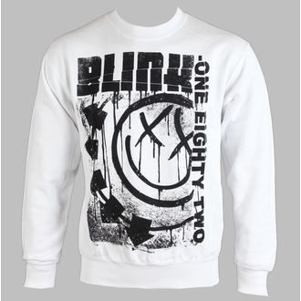 Herren Hoodie BLINK 182 - SPELLED OUT - WEISS - LIVE NATION, LIVE NATION, Blink 182