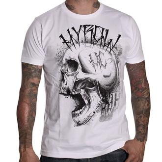 Herren T-Shirt   HYRAW - Punkshit - White