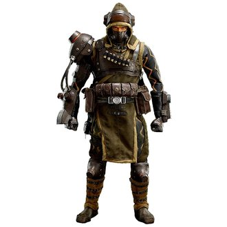 Lost Planet 2 Action Figure 1/6 Mercenary 30 cm, NNM