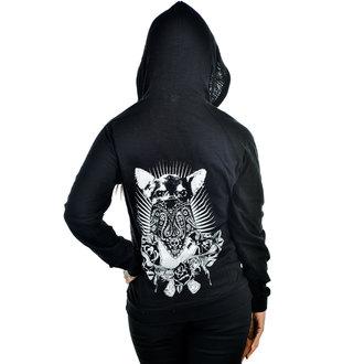 Damen Hoodie TOO FAST - CHIHUAHUA - Black, TOO FAST