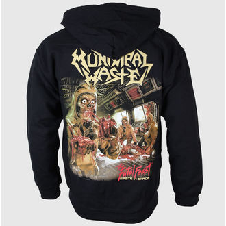 Herren Hoodie Municipal Waste - Fatal Feast - JSR, Just Say Rock, Municipal Waste