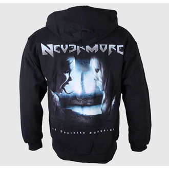 Herren Hoodie Nevermore - Logo-Album Back - JSR, Just Say Rock, Nevermore