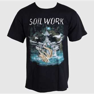 Herren T-Shirt   Soil Work - Barge To Hell-Break For Nobody - JSR, Just Say Rock, SoilWork