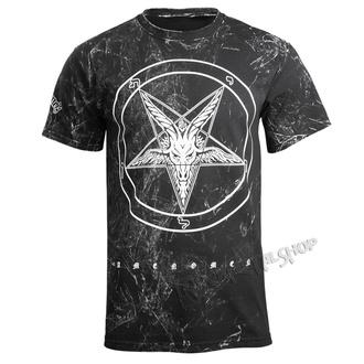 Herren T-Shirt Hardcore - GOAT - AMENOMEN - OMEN001KM ALLPRINT WEISS