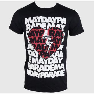 Herren T-Shirt   Mayday Parade - Heart - PLASTIC HEAD, PLASTIC HEAD, Mayday Parade
