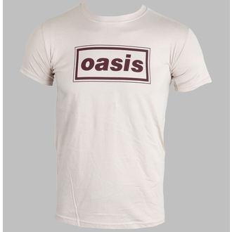 Herren T-Shirt  Oasis - Classic Logo (Brown) - PLASTIC HEAD, PLASTIC HEAD, Oasis