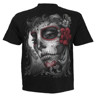 Herren T-Shirt SPIRAL - SUGAR DOLL - BLK - DT237600