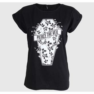 Damen T-Shirt Pierce the Veil - Coffin - PLASTIC HEAD, PLASTIC HEAD, Pierce the Veil