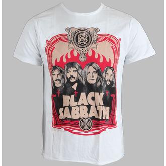 Herren T-Shirt  Black Sabbath - AMPLIFIED - White, AMPLIFIED, Black Sabbath