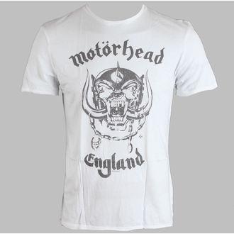 Herren T-Shirt Motörhead - England Mens - AMPLIFIED - White