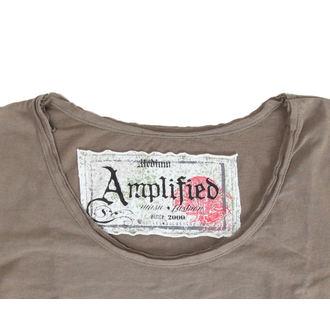 Damen T-Shirt  Mötley Crüe - Tour 87 - AMPLIFIED - Khakil, AMPLIFIED, Mötley Crüe