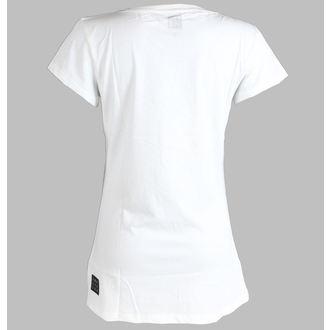 Damen T-Shirt  (Tunika) Janis Joplin - Club 27 - AMPLIFIED - White