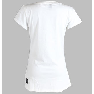 Damen T-Shirt  (Tunika) Amy Winehouse - AMPLIFIED - White, AMPLIFIED, Amy Winehouse