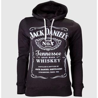 Damen Hoodie Jack Daniels - Black, JACK DANIELS