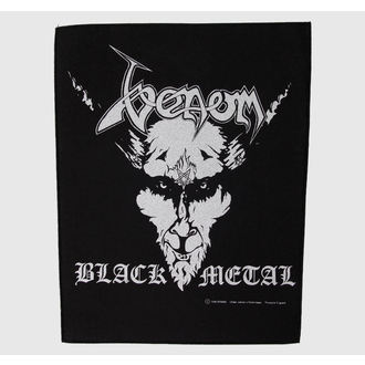 Großer Aufnäher     Venom - Black Metall - RAZAMATAZ, RAZAMATAZ, Venom