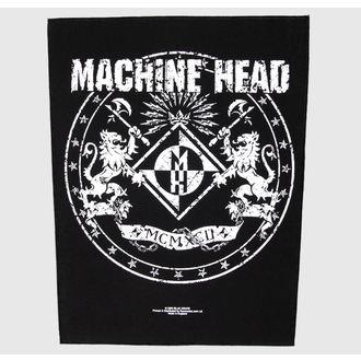 Großer Aufnäher     Machine Head - Crest - RAZAMATAZ, RAZAMATAZ, Machine Head